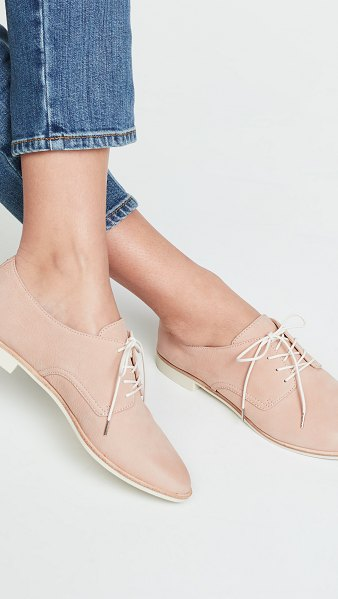 Dolce Vita kylie lace up oxfords in nude