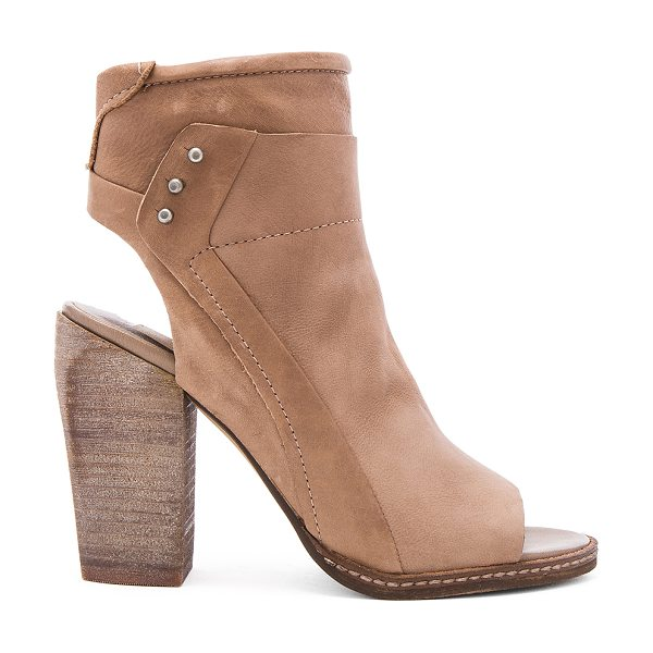 DOLCE VITA Niki Heel in taupe - Leather upper with man made sole. Side zip closure. Side...