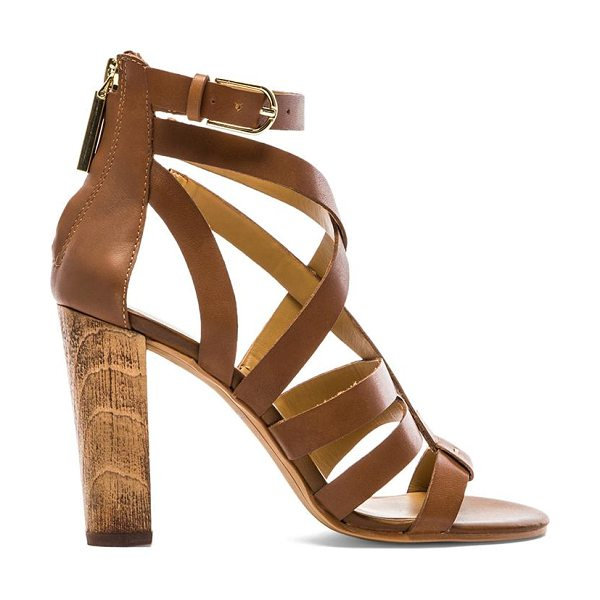 Dolce Vita Nolin heel in brown - Leather upper with man made sole. Heel measures approx...