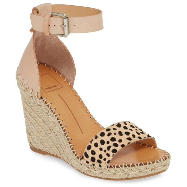 Dolce Vita noor espadrille wedge sandal in brown