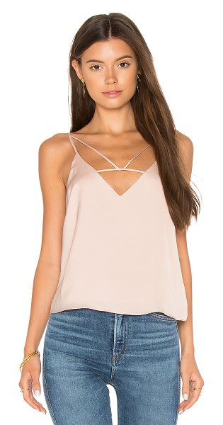 Dolce Vita Shane Cami in dusty rose - Self & Lining: 100% poly. Hand wash cold. Front...