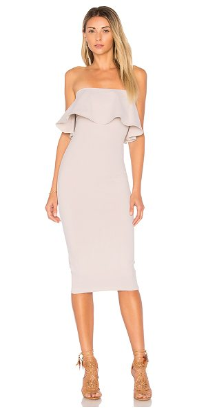 Donna Mizani Victoria Dress in beige