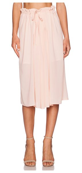 """dRA Dab skirt in blush - Poly blend. Hand wash cold. Skirt measures approx 30""""""""..."""