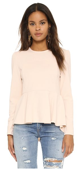 dRA salonika top in soft pink - A contoured panel at the bodice shapes the silhouette of...