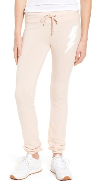 DREAM SCENE girl power skinny pants - Proclaim your girl power-and love of comfort-to the...