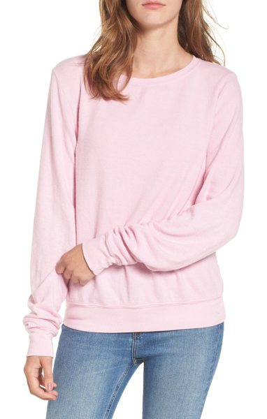 DREAM SCENE relaxed sweatshirt - Cut from a soft triblend knit, this slouchy sweatshirt...
