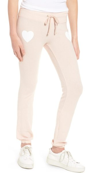 Dream Scene rose all day skinny pants in rose - Everything's coming up roses in these ultra-comfy jogger...
