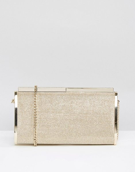 DUNE Bronze Clutch Bag - Clutch bag by Dune, Shimmer lurex outer, Fully lined,...