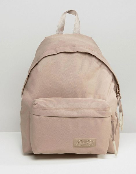 Eastpak Wyoming Beige Backpack in beige - Backpack by Eastpak, Canvas outer, Grab handle, Padded...