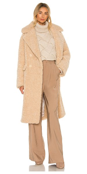 EAVES anastasia coat in beige
