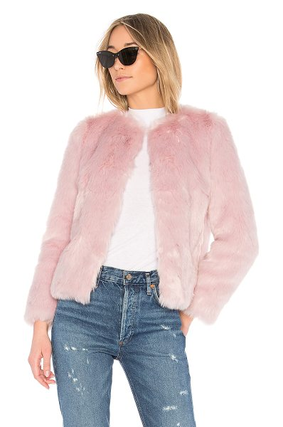 EAVES Jayce Coat in pink - It might not be so bad outside with a fun pop of color....