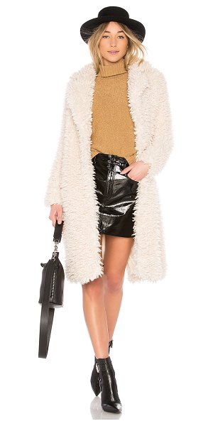 EAVES Madison Coat in almondmilk - Take shelter in the heavenly soft Madison Coat by EAVES....
