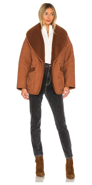 EAVES the cosette jacket in brown