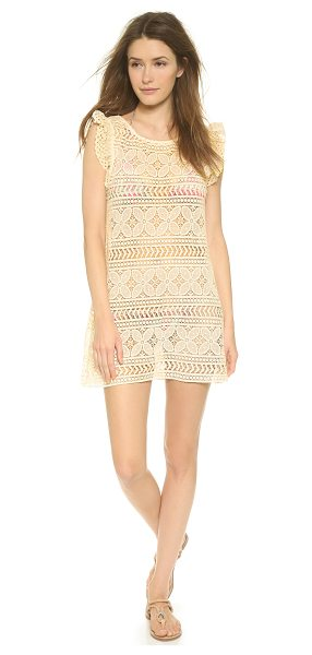 EBERJEY Beach comber chloe cover up - A charming Eberjey cover up dress in pretty floral lace....