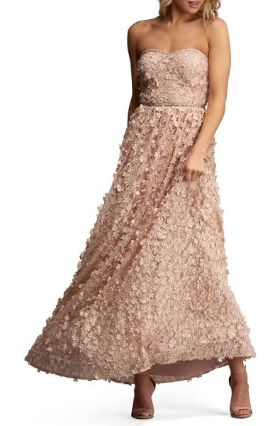 ECI embellished gown - Make it an evening to remember in a strapless gown...