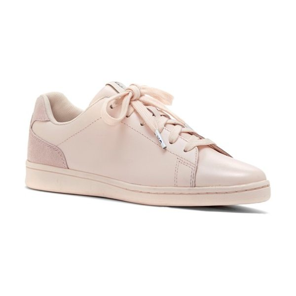 ED ELLEN DEGENERES chapalove sneaker in pink champagne/ pink leather - This versatile, goes-with-everything sneaker sports...