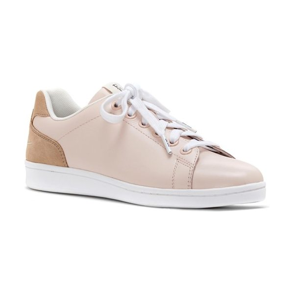 ED Ellen DeGeneres chapalove sneaker in pink champagne/ bisque leather - This versatile, goes-with-everything sneaker sports...