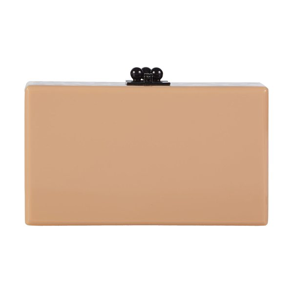 EDIE PARKER Jean Spots Acrylic Clutch Bag - Edie Parker hard shell clutch bag in hand-poured...