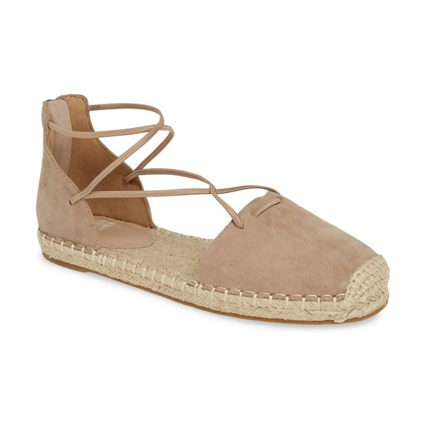 Eileen Fisher lace espadrille in brown