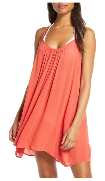 Elan cover-up slipdress in coral (nordstrom exclusive)