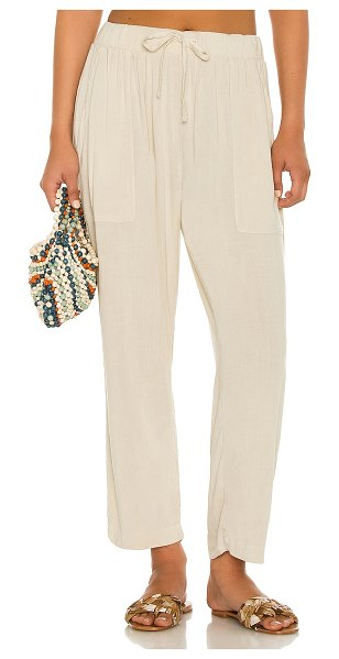 Electric & Rose astor pant in sand
