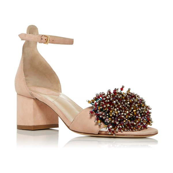 Elie Saab Anemone Sandal in light pink