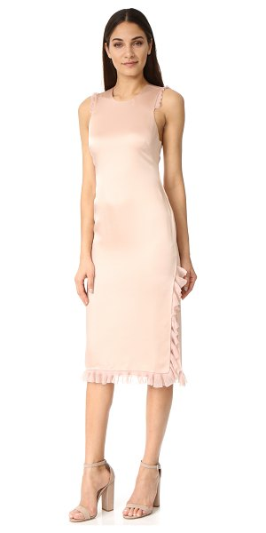 ELIZABETH AND JAMES adriene ruffle dress - Gauze ruffles trace the edges of this Elizabeth and...