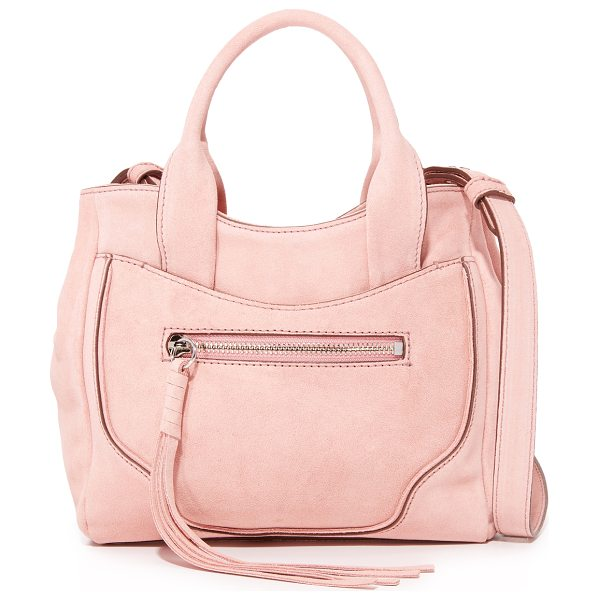 Elizabeth and James andie mini satchel in tea rose - A scaled-down Elizabeth and James satchel styled with a...