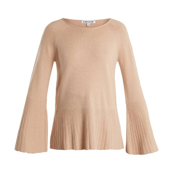 Elizabeth and James Clarette Wide Sleeve Knit Sweater in nude - Elizabeth And James - Elizabeth and James's nude-pink...