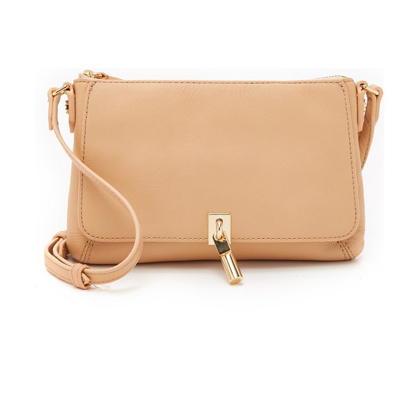 Elizabeth and James Cynnie micro cross body bag in natural - An Elizabeth and James cross body bag in smooth leather....