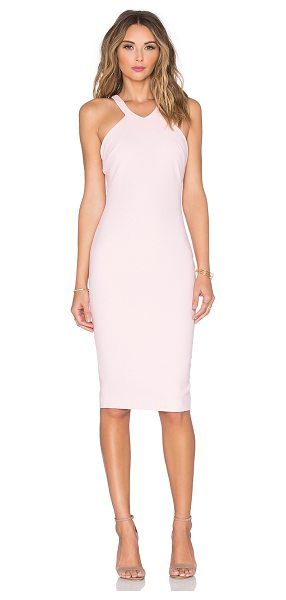 Elizabeth and James Edi Dress in pink - Self: 54% poly 38% viscose 8% elastaneLining: 100% poly....