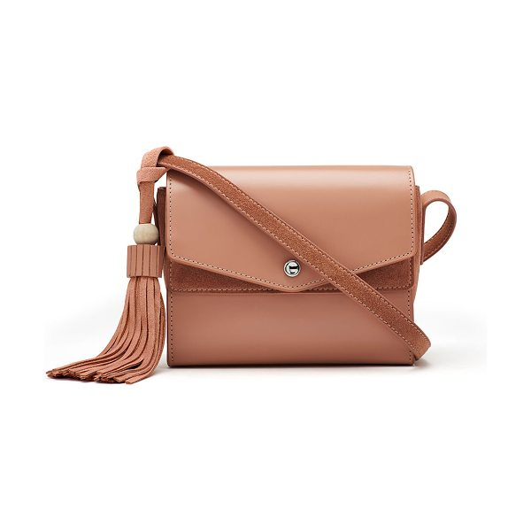 Elizabeth and James Eloise Field Tassel Bag in beige