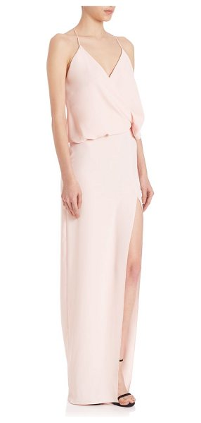 Elizabeth and James kora dress in cherry blossom - A flowy, blouson silhouette reveals a side slit for...