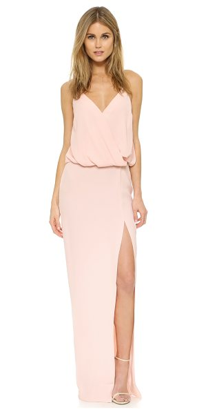 Elizabeth and James kora dress in cherry blossom - A shoulder baring Elizabeth and James maxi dress with a...