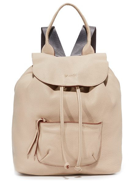 Elizabeth and James Elizabeth And James Langley Backpack in bone - A roomy Elizabeth and James backpack with a slouchy...