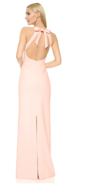 Elizabeth and James Elizabeth And James Orley Gown in cherry blossom - A minimalist Elizabeth and James gown with fluid lines....