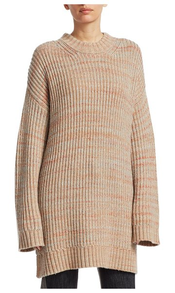 Elizabeth and James orra oversized sweater in neutral - From the Saks IT LIST PUTTING ON THE KNITS That...