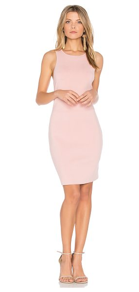Elizabeth and James Ritter Dress in pink - Cotton blend. Dry clean only. Unlined. Knit fabric....