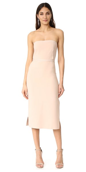 ELIZABETH AND JAMES sierra strapless dress - A strapless Elizabeth and James dress with satin...