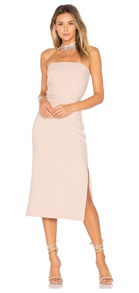 "ELIZABETH AND JAMES Sierra Strapless Dress - ""Cotton blend. Dry clean only. Unlined. Plastic bodice..."