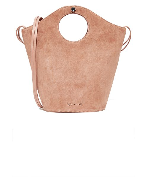 Elizabeth and James small market shopper tote in nude - A scaled-down Elizabeth and James tote in a mix of...