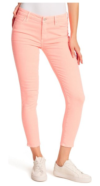 Ella Moss ankle skinny jeans in coral