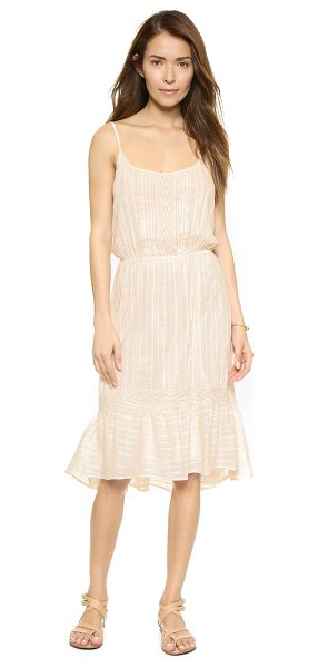 ELLA MOSS Blanca eyelet dress - Lace trim and tonal embroidery bring delicate beauty to...
