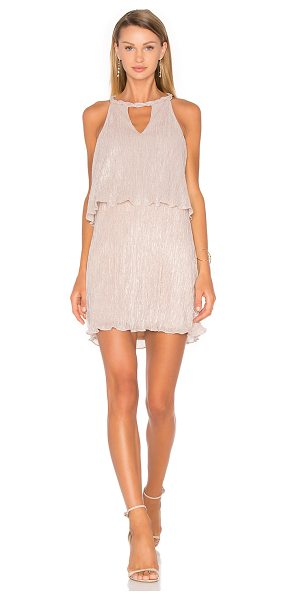 ELLA MOSS Cerine Dress - Poly blend. Dry clean only. Fully lined. Braided...