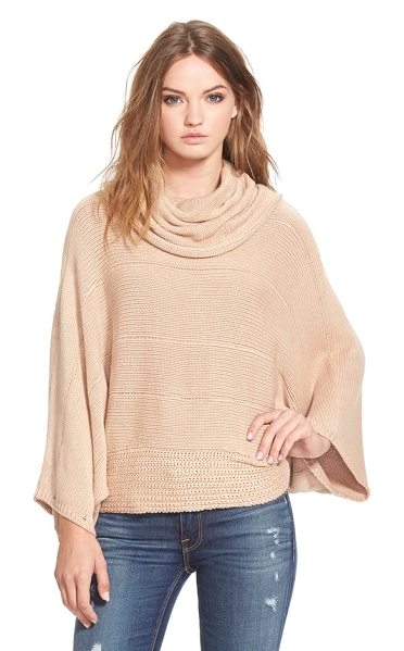 Ella Moss lya cowl neck sweater in camel - Nothing quite spells casual elegance like a loosely...
