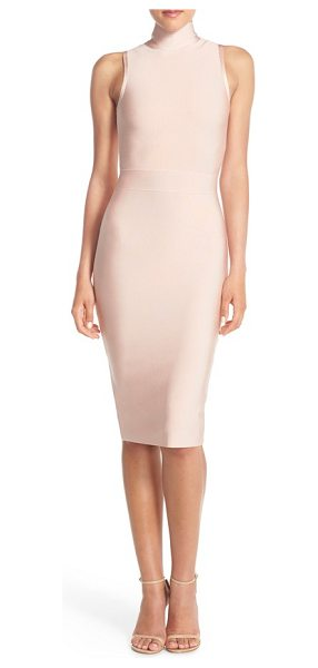 ELLIATT aura stretch midi body-con dress - Thick, lustrous knit hugs and highlights your curves...