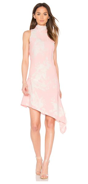ELLIATT Enchanted Sleeveless Dress in pink - Poly blend. Dry clean only. Fully lined. Back cut-out...