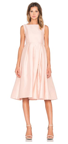 ELLIATT Evergreen Dress in blush - Self: Poly blendLining: Acetate blend. Dry clean only....