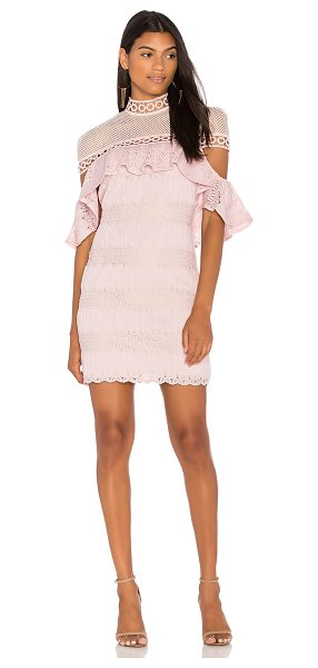 ELLIATT Pinnacle Dress in pink