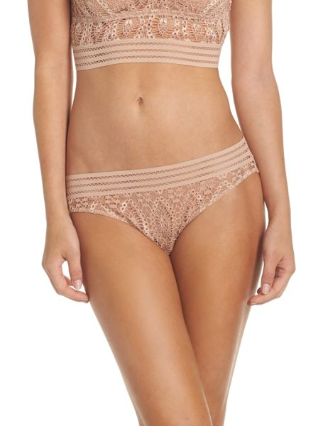 ELSE baroque bikini - Saucy and revealing in sheer geometric lace with a...
